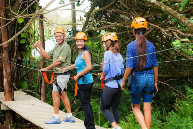 Twin Falls Zipline Ticekts and reservations